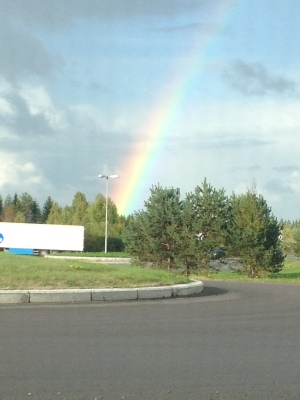 Over the Rainbow :)!
